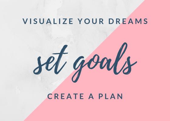 dreams, goals, plan