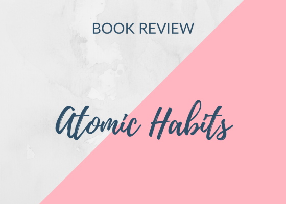 book review - atomic habits