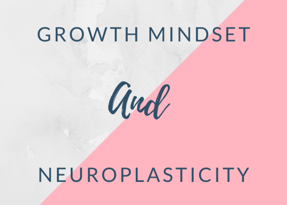 Growth mindset and neuroplasticity