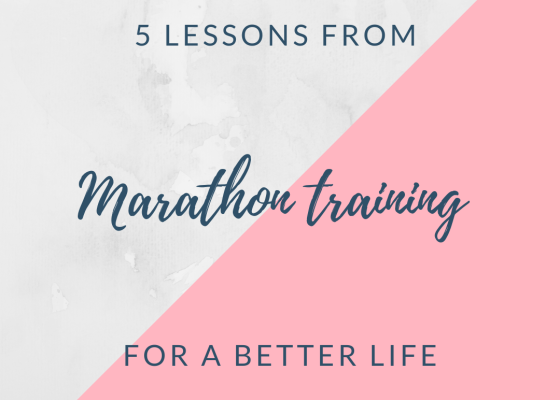 Marathon training for a better life